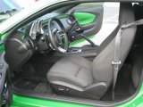 2010 Chevrolet Camaro LT Coupe Synergy Special Edition Black/Green Interior