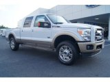 2012 Oxford White Ford F250 Super Duty King Ranch Crew Cab 4x4 #66556762