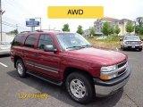 2004 Sport Red Metallic Chevrolet Tahoe LS 4x4 #66556753