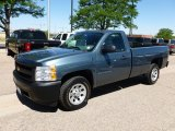 2008 Blue Granite Metallic Chevrolet Silverado 1500 Work Truck Regular Cab #66556733