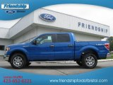 2012 Blue Flame Metallic Ford F150 XLT SuperCrew 4x4 #66556687