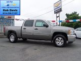 2012 Graystone Metallic Chevrolet Silverado 1500 LT Crew Cab 4x4 #66556677