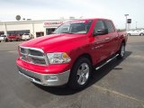 2012 Flame Red Dodge Ram 1500 Big Horn Crew Cab 4x4 #66556956