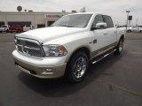 2012 Bright White Dodge Ram 1500 Laramie Longhorn Crew Cab 4x4 #66556952