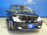 2003 Pitch Black Ford Focus ZX3 Coupe #66556570