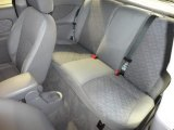 2003 Ford Focus ZX3 Coupe Rear Seat