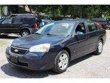 2007 Dark Blue Metallic Chevrolet Malibu LT Sedan #66557225