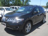 2010 Super Black Nissan Murano LE AWD #66557223