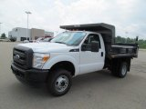 2012 Ford F350 Super Duty XL Regular Cab 4x4 Dump Truck Data, Info and Specs