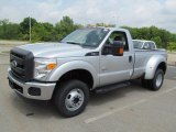2012 Ford F350 Super Duty XL Regular Cab 4x4 Dually Front 3/4 View