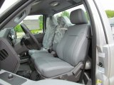 2012 Ford F350 Super Duty XL Regular Cab 4x4 Dually Steel Interior