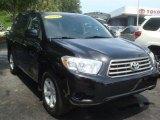2010 Black Toyota Highlander  #66556537