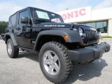 2012 Black Jeep Wrangler Rubicon 4X4 #66556815