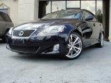 2008 Black Sapphire Pearl Lexus IS 350 #66556811