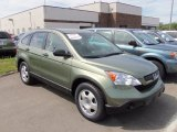 2009 Green Tea Metallic Honda CR-V LX 4WD #66616376