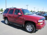 2005 Sport Red Metallic Chevrolet Tahoe Z71 4x4 #66616039