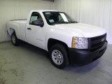 2012 Summit White Chevrolet Silverado 1500 Work Truck Regular Cab #66616011