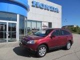 2008 Tango Red Pearl Honda CR-V EX-L 4WD #66615659