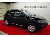 2009 Super Black Nissan Murano SL #6641839