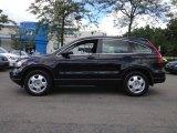 2010 Crystal Black Pearl Honda CR-V LX AWD #66616267