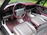 1993 Porsche 911 Carrera 4 Cabriolet Classic Grey Interior