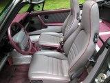 1993 Porsche 911 Carrera 4 Cabriolet Front Seat