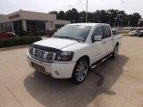 2007 White Nissan Titan SE Crew Cab #66615955
