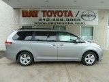2012 Silver Sky Metallic Toyota Sienna LE #66615576