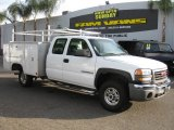 2004 GMC Sierra 2500HD Work Truck Extended Cab Utility Data, Info and Specs