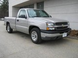 2005 Silver Birch Metallic Chevrolet Silverado 1500 Regular Cab #6647038