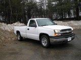 2005 Summit White Chevrolet Silverado 1500 Regular Cab #6647069