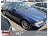 2000 Biarritz Blue Metallic BMW 5 Series 528i Sedan #66615871