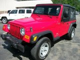 2006 Flame Red Jeep Wrangler SE 4x4 #66616189