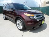 2011 Bordeaux Reserve Red Metallic Ford Explorer XLT #66615845