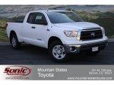 2012 Super White Toyota Tundra Double Cab 4x4 #66615475