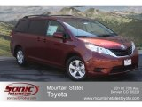 2012 Salsa Red Pearl Toyota Sienna LE #66615466