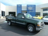 2002 Forest Green Metallic Chevrolet Silverado 1500 Work Truck Regular Cab #66615789