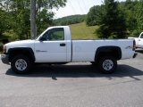 2007 Summit White GMC Sierra 2500HD Classic Regular Cab 4x4 #66616134