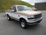 1996 Ford F150 XLT Regular Cab 4x4 Front 3/4 View