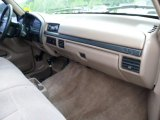1996 Ford F150 XLT Regular Cab 4x4 Dashboard