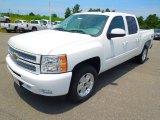 2012 Summit White Chevrolet Silverado 1500 LT Crew Cab 4x4 #66616109