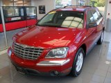 2004 Deep Molten Red Pearl Chrysler Pacifica Touring #66616099