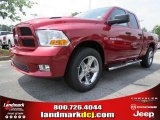2012 Deep Cherry Red Crystal Pearl Dodge Ram 1500 Express Quad Cab #66615717