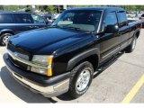 2003 Black Chevrolet Silverado 1500 LS Extended Cab 4x4 #66616085