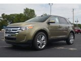 2013 Ginger Ale Metallic Ford Edge Limited #66616064