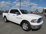 2011 Bright White Dodge Ram 1500 Big Horn Crew Cab 4x4 #66616047