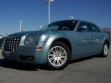 2008 Clearwater Blue Pearl Chrysler 300 Touring #6637326