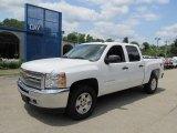 2012 Summit White Chevrolet Silverado 1500 LT Crew Cab 4x4 #66680973
