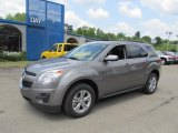 2012 Graystone Metallic Chevrolet Equinox LT AWD #66680972