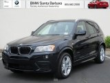 2013 Carbon Black Metallic BMW X3 xDrive 28i #66680939